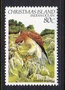 CHRISTMAS ISLAND - 1982 80c DEFINITIVE BIRD STAMP FINE MNH ** SG 164 - Christmas Island