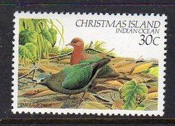 CHRISTMAS ISLAND - 1982 30c DEFINITIVE BIRD STAMP FINE MNH ** SG 159 - Christmas Island