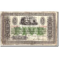 Northern Ireland, 5 Pounds, 1943, 1943-01-01, KM:316a, TB - Irlande