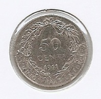 ALBERT I * 50 Cent 1911 Frans * Prachtig * Nr 8563 - 1909-1934: Albert I