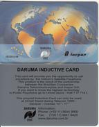 BRAZIL(Daruma) - World Map, Telecom 1999 Geneve, Daruma/urmet Inductive Card, Unused - Brazil