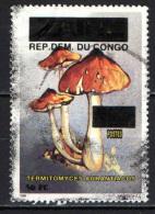 CONGO BRAZZAVILLE - 1996 - FRANCOBOLLO DELLO ZAIRE CON SOVRASTAMPA - OVERPRINTED - USATO - Congo - Brazzaville