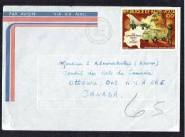 1979  Lettre Avion Pour Le Canada  Philexafrique 2 - Haute-Volta (1958-1984)