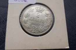 2 Dinara Dinars 1897. Good Quality Serbia - Serbie