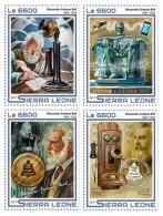 Z08 SRL17514a SIERRA LEONE 2017 Alexander Bell MNH ** Postfrisch 4 Stamps - Sierra Leone (1961-...)