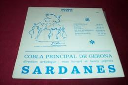 FOLKLORE CATALAN  °SARDANES  COBLA  PRINCIPAL DE GERONA    4 TITRES - Collections Complètes