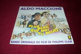 BOF ° ALDO MACCIONE  ° PLUS BEAU QUE MOI TU MEURS - Soundtracks, Film Music
