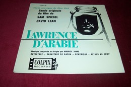 BOF  ° LAWRENCE D'ARABIE  / MAURICE JARRE    4 TITRES - Soundtracks, Film Music