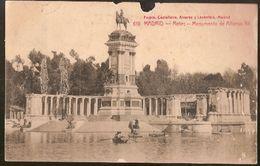 Spain & Circulated Postal, Monumento De Alfonso XII,  Madrid Elvas Portugal 1915  (35) - Monuments