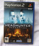 Sony Playstation 2 PS2 HEADHUNTER REDEMPTION / FR / Tbe FONCTIONNEL COMPLET - Sony PlayStation