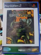 Sony Playstation 2 PS2 ROBOT WARLORDS FR / Tbe FONCTIONNEL COMPLET - Sony PlayStation