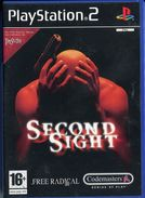 Sony Playstation 2 / PS2 SECOND SIGHT FR / Tbe COMPLET FONCTIONNEL - Sony PlayStation