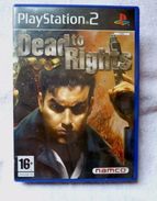 Sony Playstation 2 PS2 DEAD TO RIGHTS Tbe FONCTIONNE Complet - Sony PlayStation
