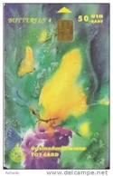 Thailand Phonecard TOT Nr.130 Schmetterling Butterfly Papillon - Thaïland