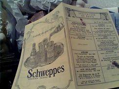 PARIGI PROGRAMME ANCIEN PROGRAMMA PUBBLICITA 1965. 46 SPECTACLES DE PARIS SCHWEPPES INDIAN TONIC  GC14508 - Programmi