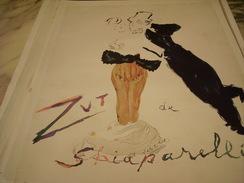 ANCIENNE PUBLICITE PARFUM ZUT DE SHIAPARELLI 1949 - Fragrances