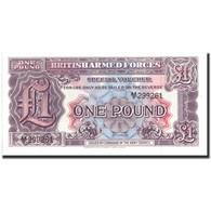 Grande-Bretagne, 1 Pound, KM:M22b, NEUF - Military Issues