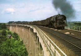 ART 227 - Train, Loco 141 R 902 Sur Le Viaduc De MIRVILLE - Seine Maritime - 76 - SNCF - France
