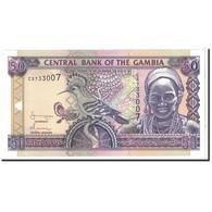 The Gambia, 50 Dalasis, 2001, KM:23c, NEUF - Gambie