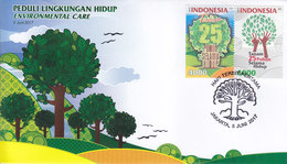 Indonesia - Indonesie New Issue 05-06-2017 (FDC Serie) - Indonesia