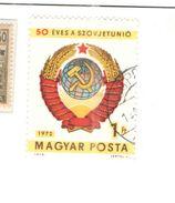 Ungheria 1972 50 Ann.Soviet Valori 1 Usato Scott.2205+ See Scans - Hungary