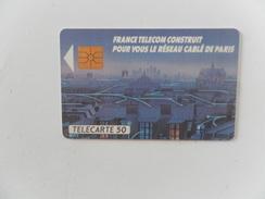 F109 RESEAU CABLE DE PARIS - 50U - GEM - LOT 39505F - 1989