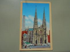 ETATS-UNIS NY NEW YORK CITY ST. PATRICK'S CATHEDRAL - Églises