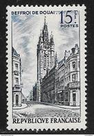 N° 1051  FRANCE  -  NEUF  - BEFFROI DE DOUAI  -  1956 - Ungebraucht