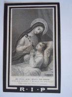 Anna Maria Josepha Biermans Wed Franciscus Josephus Vervloet 1814 1882 Lier Bouasse-Lebel Doodsprentje Image Mortuaire - Imágenes Religiosas