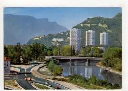 CP 10*15-OP454-GRENOBLE ROUTE DE CHAMROUSSE L ISERE LES TROIS TOURS 1969 - Grenoble