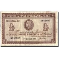 Northern Ireland, 5 Pounds, 1972, KM:246, 1972-01-05, TB+ - Irlande