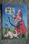HUMOUR Calendar - Pretty Girl - Small Calendar -  2014 - Erotic - SEXY - Archer - Mosquito - Calendari