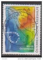 """Österreich 2011: """"Krebshilfe""""  Gestempelt (siehe Foto/Scan) - 1945-.... 2. Republik"""