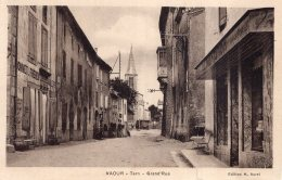 V10381 Cpa 81 Vaour - Grand'rue - Vaour