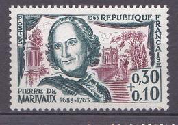N°1372 Célébrités:  Pierre De Marivaux : Timbre Neuf Sans Charnière - Unused Stamps