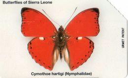 USATA-SIERRA LEONE - BUTTERFLY -10 UNITS - Sierra Leone
