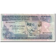 Éthiopie, 50 Birr, 1991, KM:44b, TTB - Ethiopie