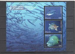 PALAU Nº 3905 AL 3907 - Vissen