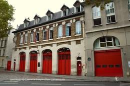 Paris XII (75) -Caserne De Pompiers Place Lachambaudie (EDITION à TIRAGE LIMITE) - District 12