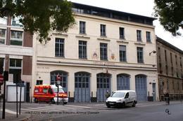 Paris XIV (75) - Caserne De Pompiers Avenue Villemain (EDITION à TIRAGE LIMITE) - District 14