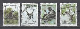 Honduras 1990,4V,set,WWF,monkeys,apen,affen,singes,monos,scimmias,MNH/Postfris(A3374) - Apen