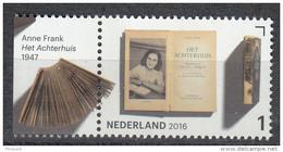 Nederland - Jaar Van Het Boek - Anne Frank - Het Achterhuis - MNH - NVPH 3454 - Schrijvers