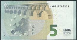 € 5 GREECE  Y001 I3  DRAGHI  UNC - EURO