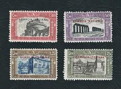 SOMALIA 1929 - Milizia II - 4 Valori - MH - Sa:IT-SO 119-22 - Somalia