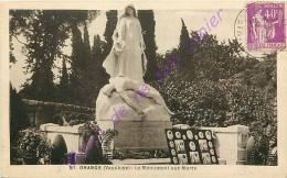 84. ORANGE . Le Monument Aux MOrts . - Orange