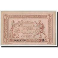 France, 1 Franc Trésorerie Aux Armées, Undated (1917), KM:M2, Fayette:VF 3.13, S - Treasury