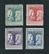TRIPOLITANIA 1928 - Pro Società Africana D'Italia - 4 Valori - MH - Sa: IT-TP 46-49 - Tripolitania