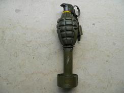 Grenade US Mk2 Neutralisée Avec Adaptateur - Armes Neutralisées