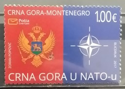 Montenegro, 2017, Montenegro In NATO (MNH) - Montenegro