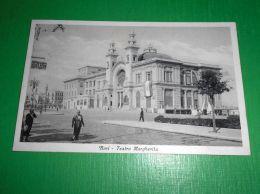 Cartolina Bari - Teatro Margherita 1937 - Bari